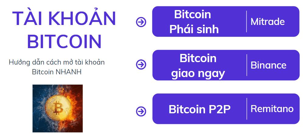 tạo tài khoản bitcoin
