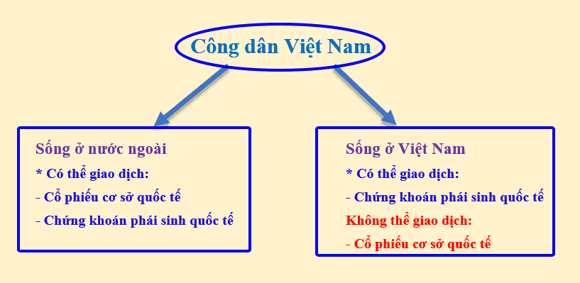 mua cổ phiếu nước ngoài ở Việt Nam
