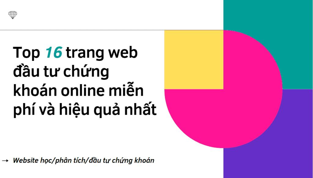 website chứng khoán