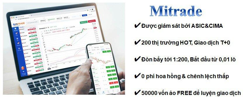 lợi thế Mitrade