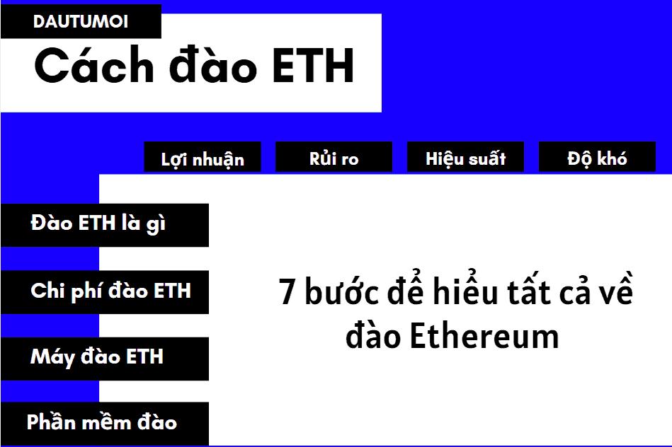 Cách đào ETH: 7 bước để đào Ethereum với các máy đào ETH & phần mềm đào Ethereum